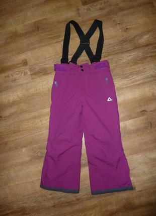 Dare2be теплые штаны, полукомбинезон, лыжные брюки на 5-6 лет