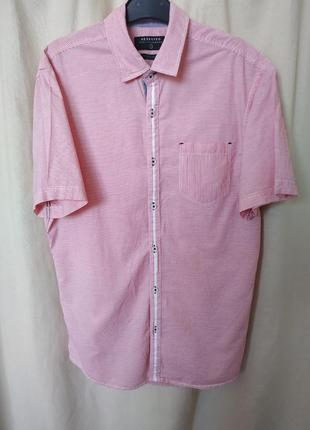 Мужская хлопковая рубашка