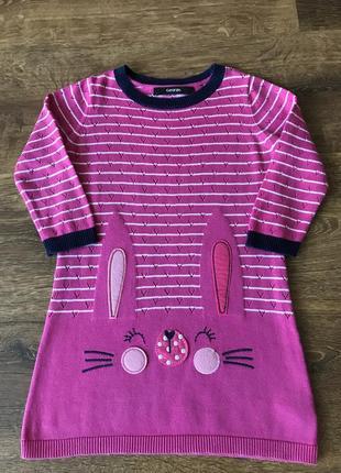 Стильное платье для малышки 1,5-2года