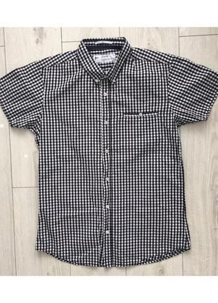 Літня рубашка, рубашка з коротким рукавом, летняя рубашка, мужская рубашка на лето.