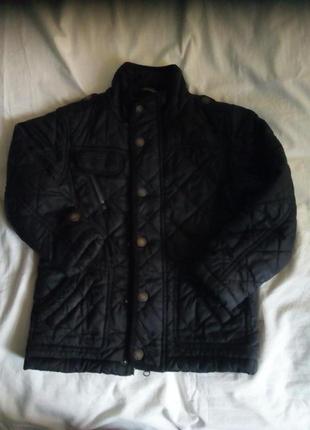 Осенняя стёганая куртка