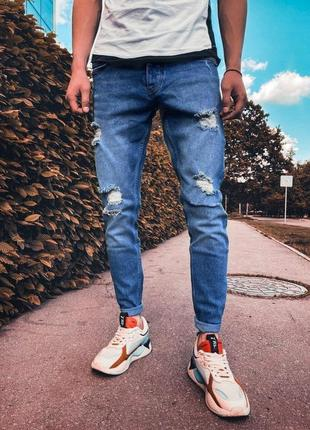 Мужские стильные джинсы