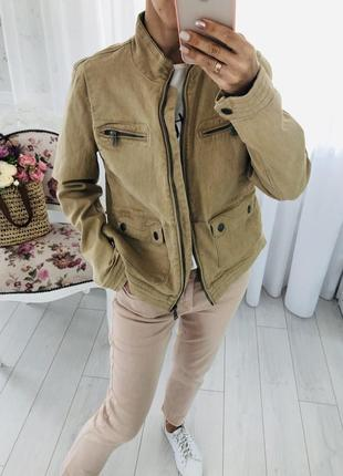 Ralph lauren джинсовка джинсовая куртка пиджак жакет в цвете кемел
