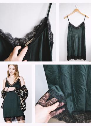 Платье в бельевом стиле pull&bear