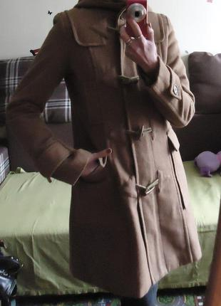 Пальто дафлкот с капюшоном nielsson