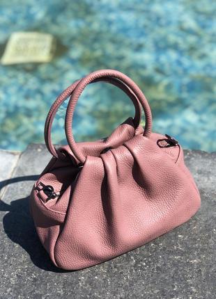 Женская кожаная сумка облако италия