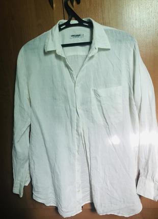 Льняная рубашка 164-175