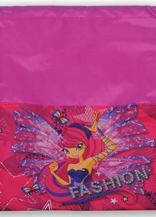 Детская сумка для сменной обуви для девочки фея смарт