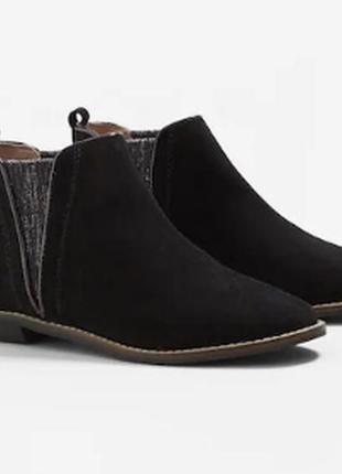 Стильні, модняві демісезонні черевики, шкіра, р.27, mango, іспанія / чоботи, ботинки