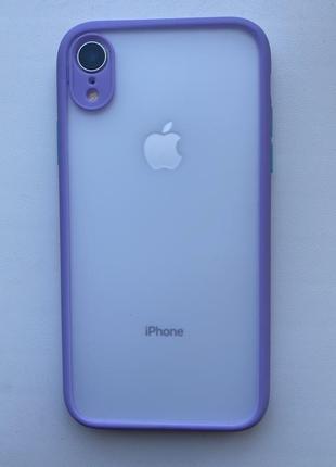 Чохол, силиконовый чехол на айфон xr. матовый чехол iphone xr.