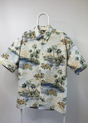 Оригинальная гавайская рубашка made in korea hollis river