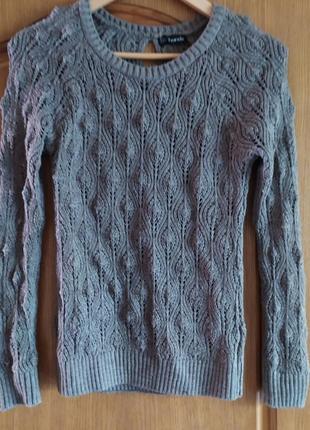 Ажурный свитер