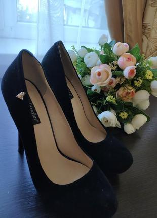 Безумно красивые туфли на высоком каблуке kadandier