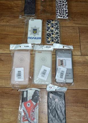 Новый чехол apple iphone x, 6plus, 6s plus, 7plus, 6, 6s, 7, 8, 5, 5s