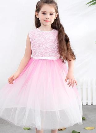 Нарядное красивое детское платье 1229