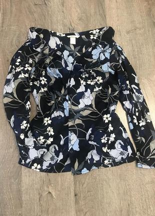 Рубашка блузка нм hm s