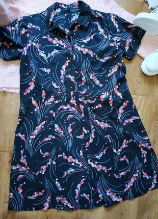 Платье рубашка!