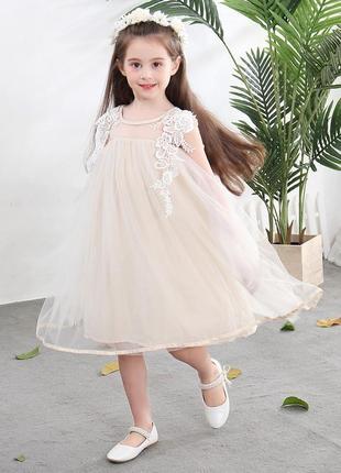 Нарядное красивое детское платье 1220