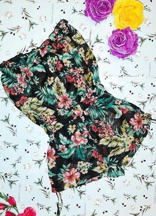 🎁1+1=3 модный шифоновые ромпер комбез комбинезон new look с шортами, размер 42 - 44