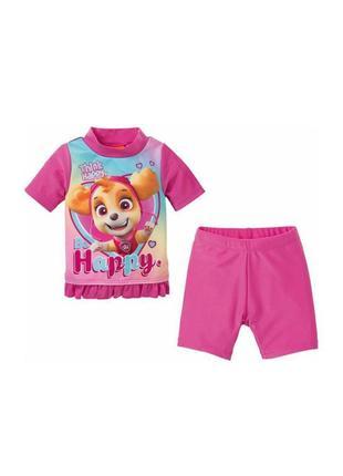 Пляжный костюм/купальник для девочки от немецкого бренда детской одежды lupilu