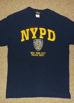 Оригинальная футболка new york police department