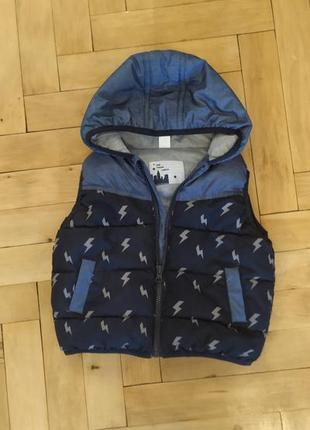 Дитяча безрукавка, безрукавка для мальчика,куртка, безрукавка для хлопчика,свитер