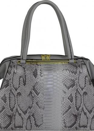 Крутая сумка а4 под змею рептилия эко кожаная с длинной ручкой новая высокое качество