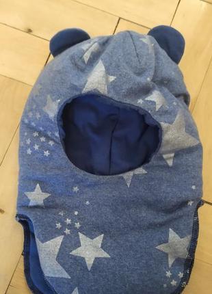 Зимова шапка,шапка шолом,шапка шлём, зимняя шапка, шапка для мальчика