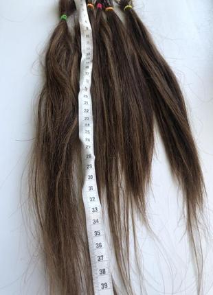 Славянские волосы срез 50 грамм коротких для загущения весков или на челку