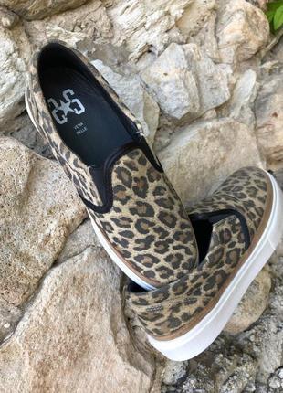 Леопардовые слипоны 2star