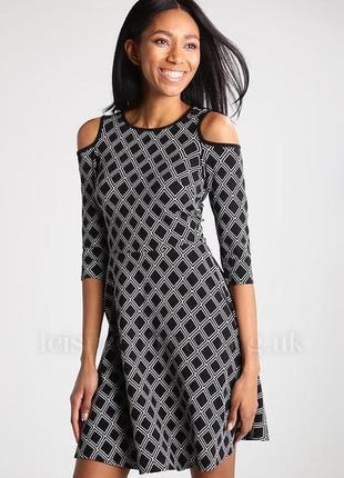 🎁1+1=3 стильное нарядное платье dorothy perkins с открытыми плечами, размер 52 - 54