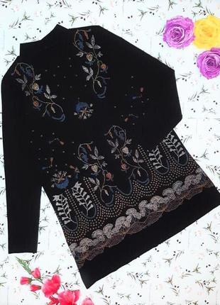🎁1+1=3 фирменное черное нарядное короткое платье zara, размер 44 - 46