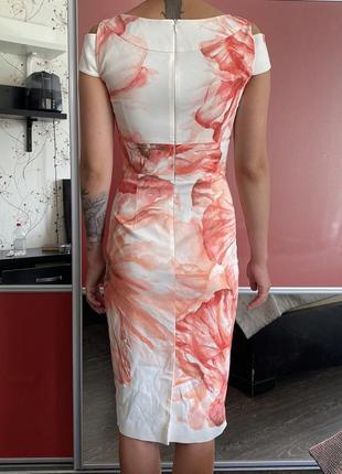 Красивое белое платье от karen millen3 фото