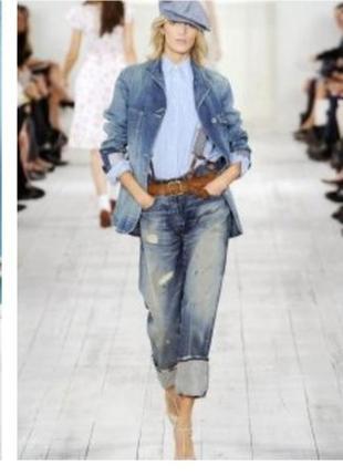 50% скидка от 3-х вещей    джинсовый пиджак м&со