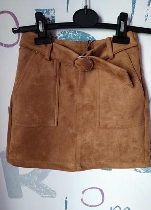 Новая юбка bershka девочка 10-12 лет (140-146см)