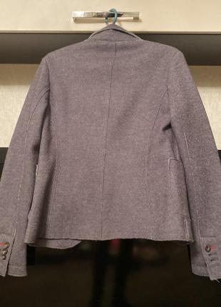 Шерстяной пиджак фирменный napapijri2 фото