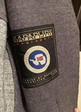 Шерстяной пиджак фирменный napapijri7 фото
