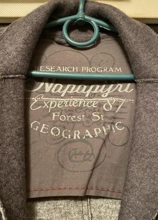 Шерстяной пиджак фирменный napapijri3 фото