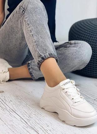 Новиночка! легкие и удобные кроссовки на стильной подошве