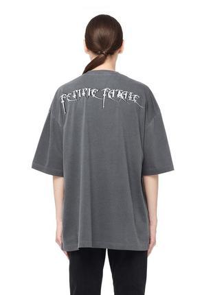 Oversize футболка balenciaga femme fatale1 фото