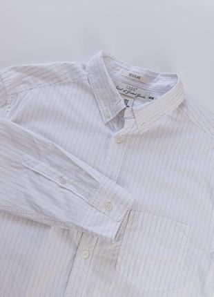 Отличная рубашка button-down в тонкую полоску от h&m