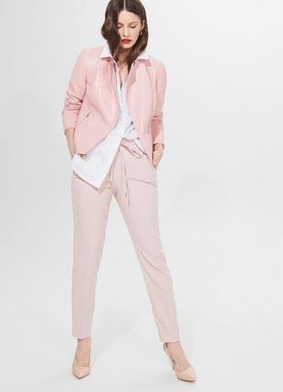 Куртка косуха розовая базовая