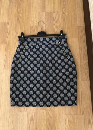 Красивейшая демисезонная юбка бренда h&m. новая