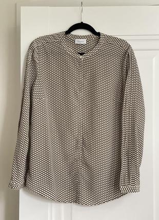 Блуза свободного кроя из 💯 шёлка  💎  luxury бренд elegance