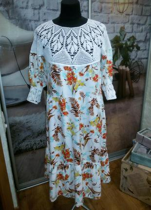 Уникальное платье в стиле кантри