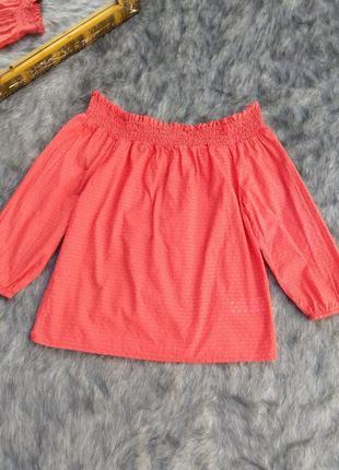 Хлопковая блуза на плечи primark