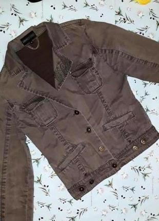 🎁1+1=3 стильная джинсовая куртка от urbanconcept, размер 42 - 44, производство испания