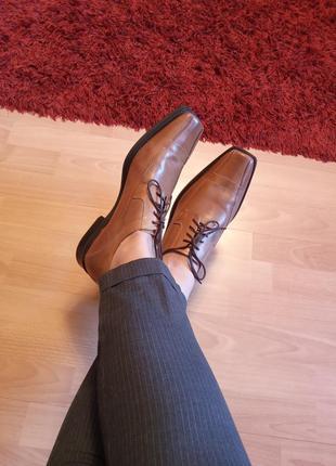Италия,невероятно красивые,кожаные туфли,лоферы,полуботинки,классика,44р