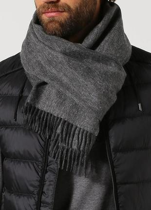 Оригинал boss шерстяной шарф