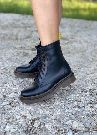 Ботинки кожа натуральная, цвета, тренд осень-зима 2020 , 36-40р.